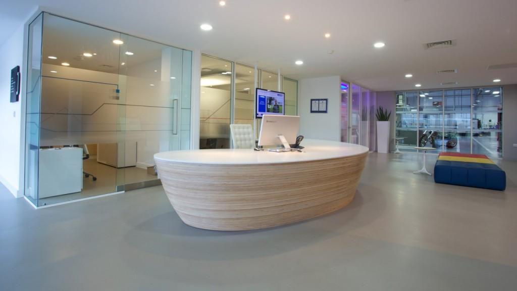Seco Tools Reception Area