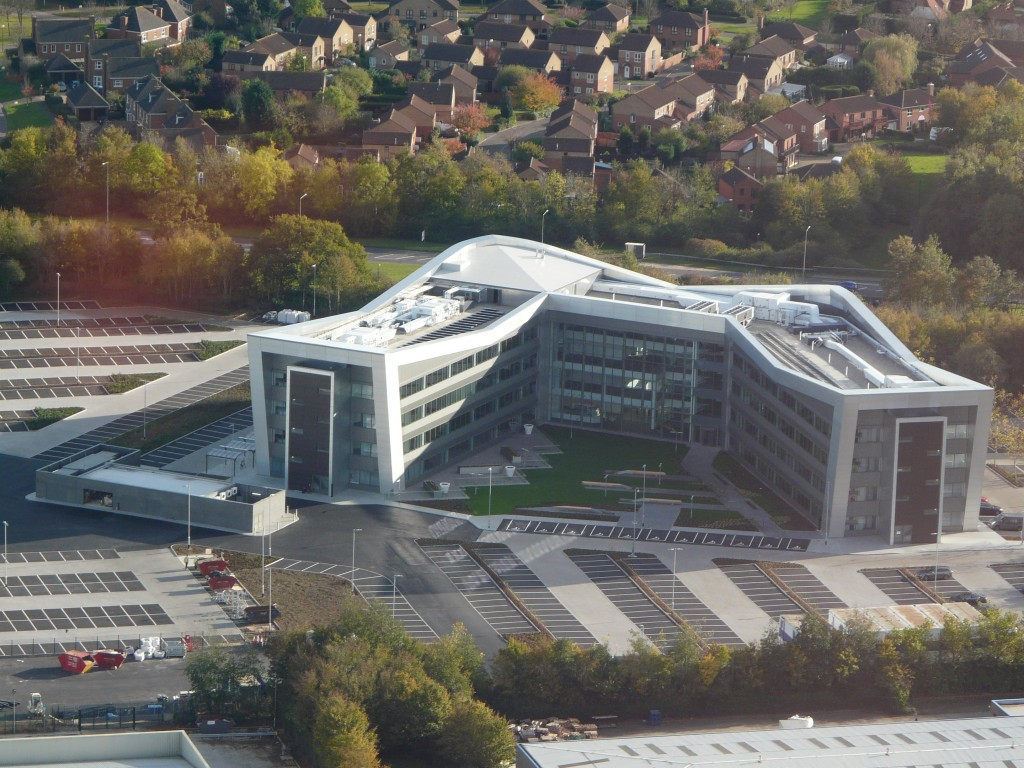 Purpose Built New Build Vwfs Headquarters Cs2 Chartered
